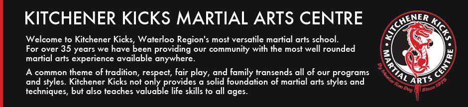 Kitchener Kicks Martial Arts Centre